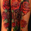 Pistol Rose Arm Ash